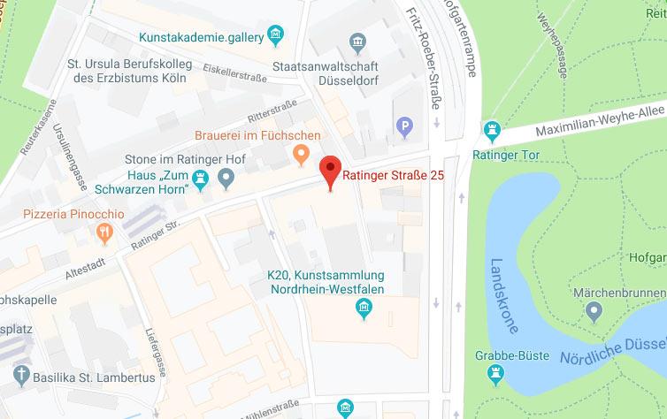Google Map Vorschau
